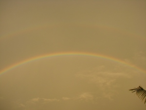 Double Rainbow From Abroad